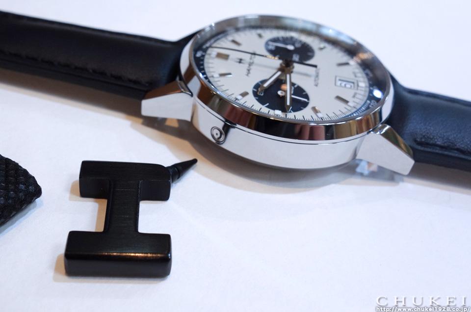 イントラマティックオートクロノカレンダー調整 コレクターボタン