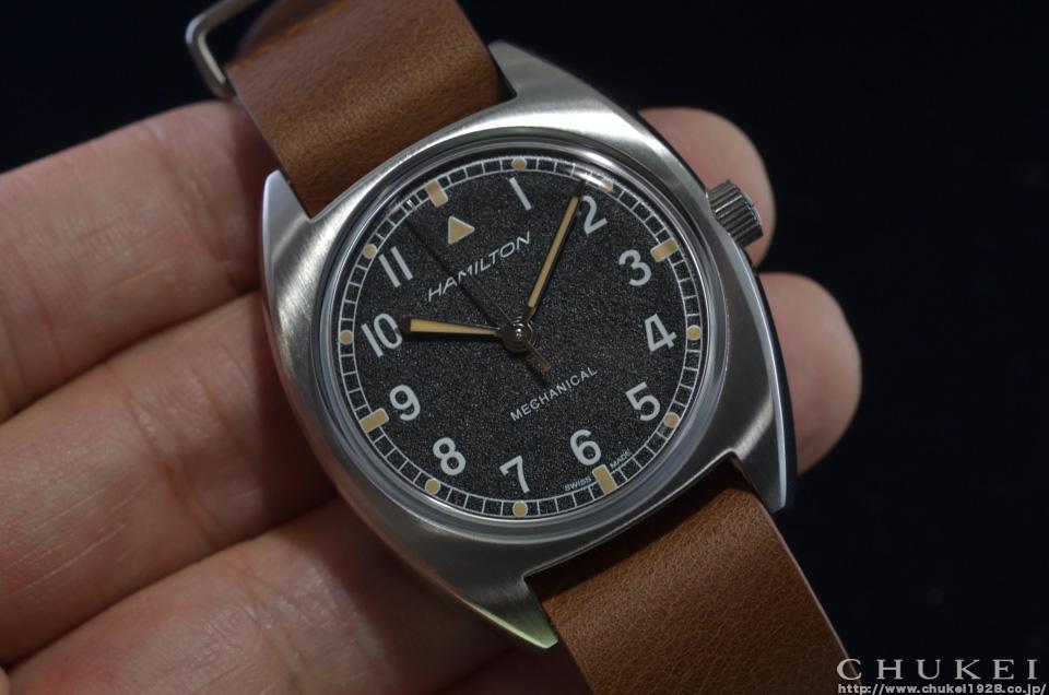 ハミルトン カーキパイロットパイオニアメカH76419531