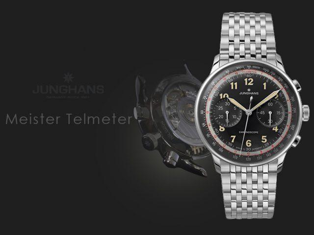 ユンハンス マイスターテレメーター ブラック ブレス仕様027/3381.44