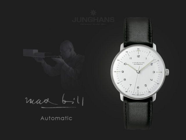 ユンハンス マックスビル自動巻き38mm アラビア 027 3500 00