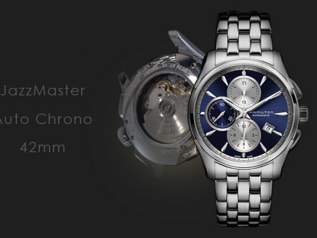 ハミルトン ジャズマスター オートクロノ ブルー・ブレス仕様  H32596141