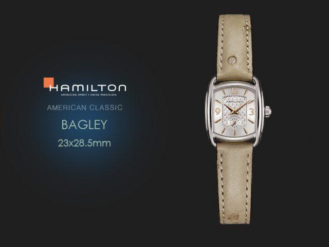 ハミルトン  バグリー ストラップ仕様 H12351855