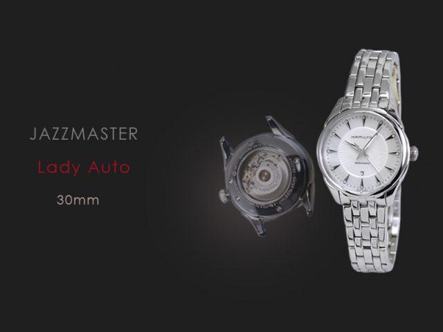ハミルトン ジャズマスターレディ オートMOPダイヤダイヤル・ブレス仕様  H42215111