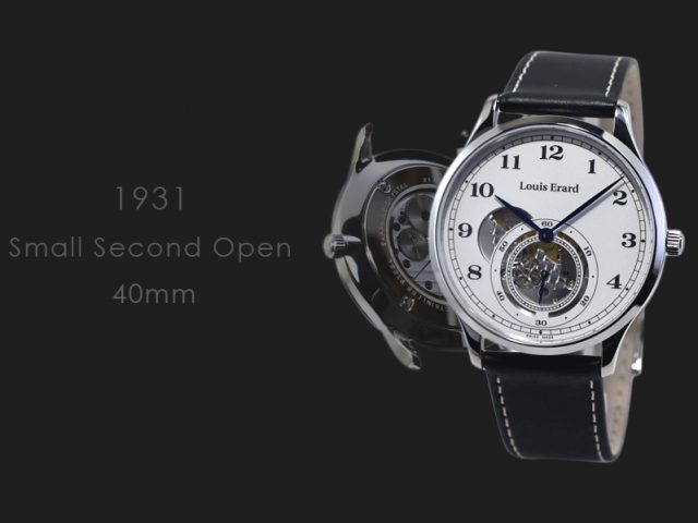 ルイ・エラール 1931 スモールセコンド オープン LE32217AA31BVA32