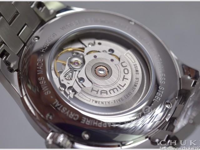 ハミルトンジャズマスターH32565155ケースバック