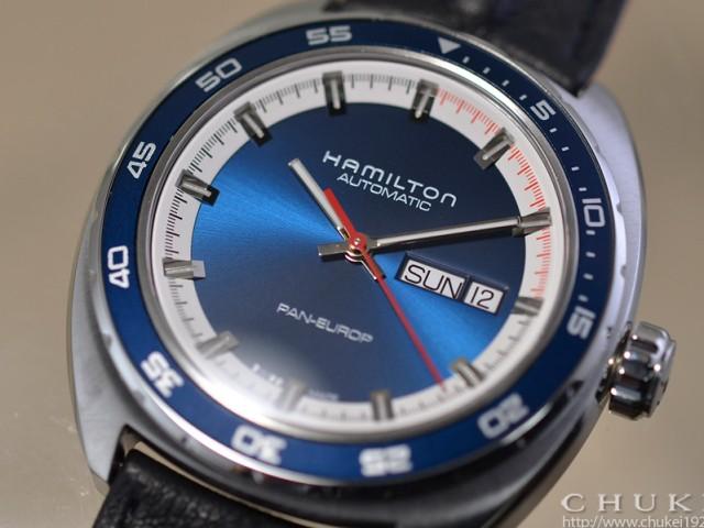 ハミルトン パンユーロH35405941 ダイヤルアップ