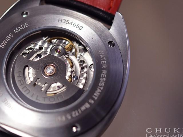 ハミルトン パンユーロH35405941 シースルバック