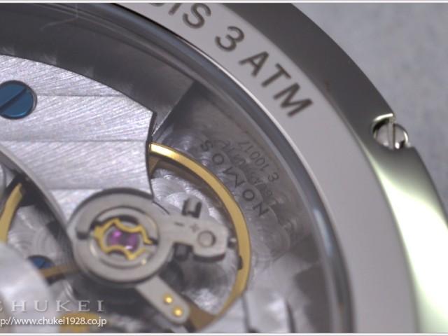 モス・タンゴマット ルテニューム TN1E1G2 (38.3mm自動巻き)
