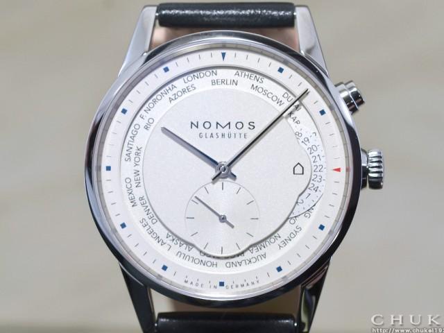 ノモス チューリッヒワールドタイマーZR1X4W2 DIW5201