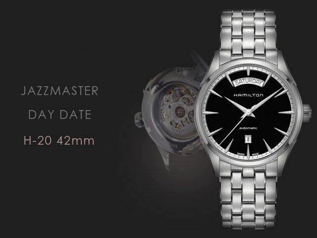 ハミルトンジャズマスター ディディト 42MMブラック・ブレス仕様 H4256131
