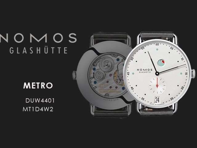 ノモス  メトロ パワーリザーブ  ディト37MM  MT1D4W2 (DUW4401) 手巻き