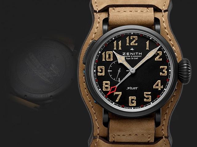 ゼニス  Type 20 GMT1903 48 MM 96.2431.693/21.C738