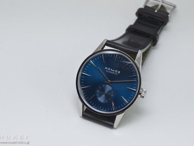 ノモス ZR1E3BL2 チューリッヒ ブルー