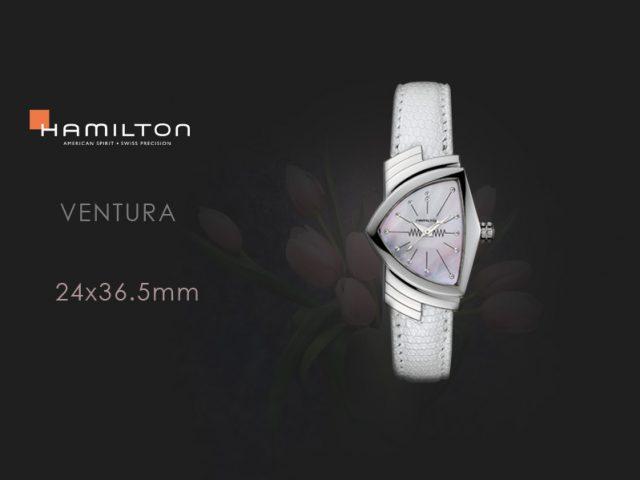 ハミルトン  ベンチュラ レディマザーオブパールダイヤル  H24211852