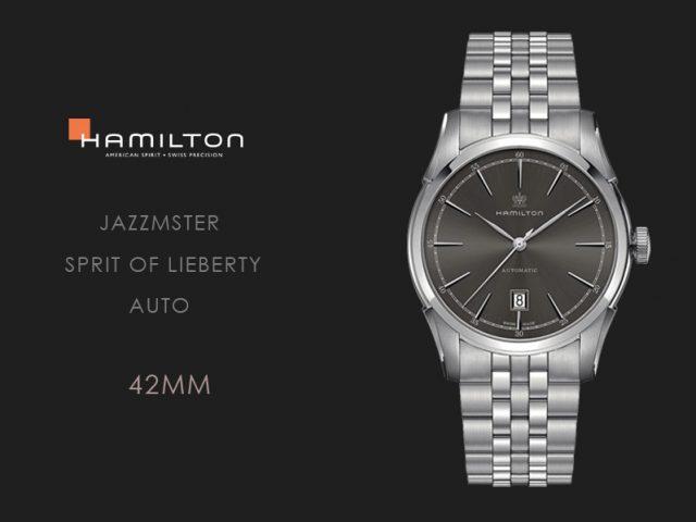ハミルトン スピリットオブリバティ グレー・ブレス仕様42MM H42415091