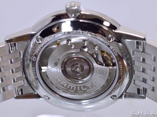 ハミルトン イントラマティック H38455151 ケースバックETA2892