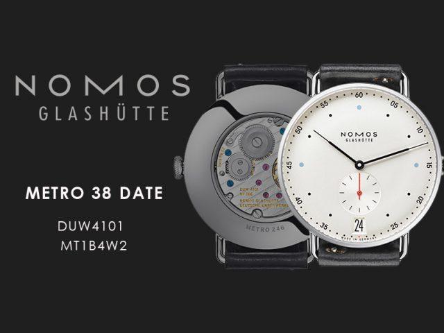 ノモス  メトロ 38ディト  MT1B4W2(DUW4101)手巻