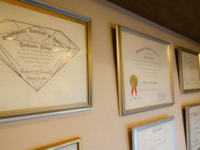 GIA.G.G diploma