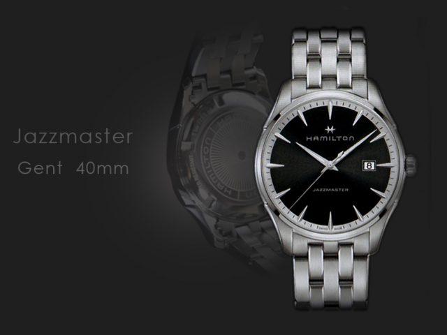 ハミルトン ジャズマスター ジェント クォーツ ブラック ブレス仕様  H32451131