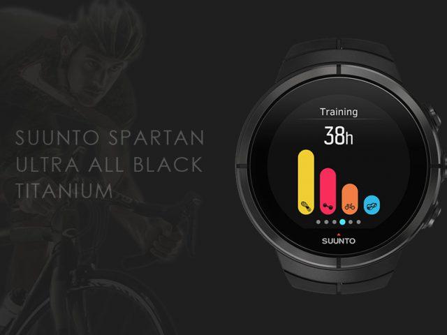 スント スパルタン ウルトラ オールブラック チタニュウム SS022655000