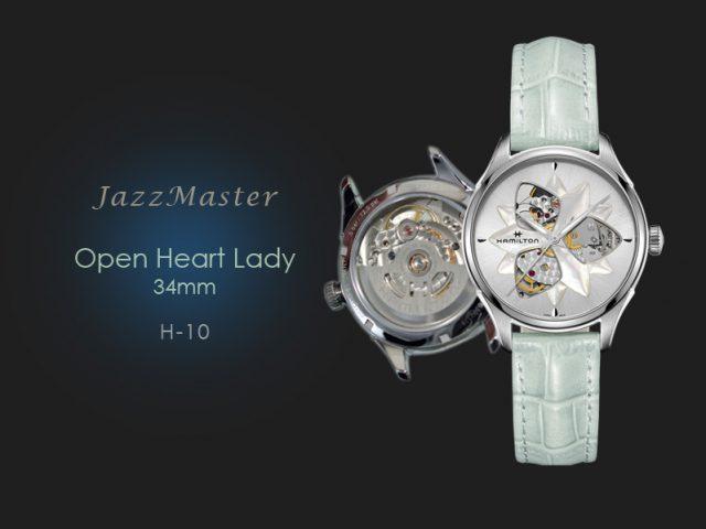ハミルトン ジャズマスター オープンハート レディ H32115891