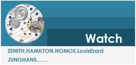 ハミルトン、ルイエラール、ノモスなど取り扱い機械式時計を中心に掲載しています。