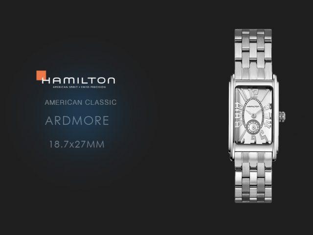 ハミルトン アードモア SSブレス 18.7x27mm  H11211053