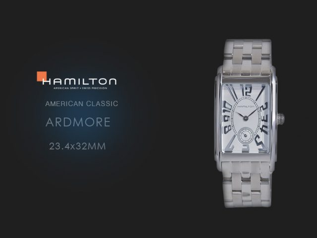 ハミルトン  アードモア SSブレス  23.4x32mm H11411553