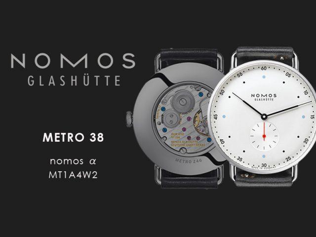 ノモス  メトロ 38 MT1A4W2(nomos α)手巻