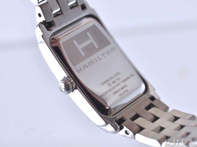 ハミルトン アードモア H11211053  ケースバック