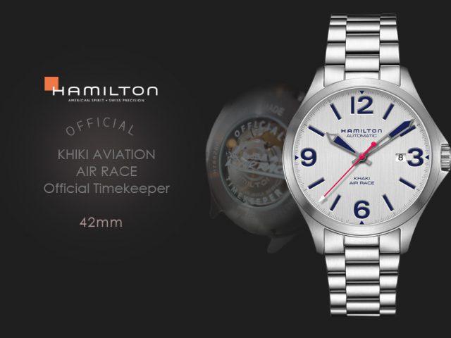 ハミルトン カーキエアレース公式タイムキーパーモデル 42MM H76525151