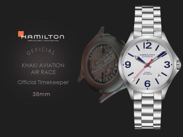 ハミルトン カーキエアレース公式タイムキーパーモデル 38MM H76225151