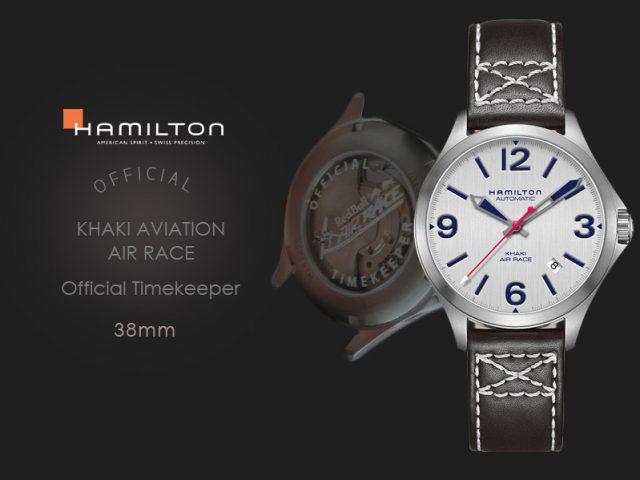 ハミルトン カーキエアレース公式タイムキーパーモデル 38MM H76225751