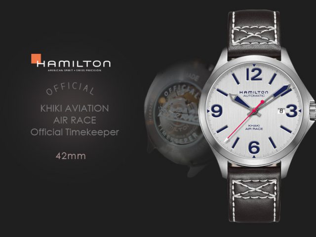 ハミルトン カーキエアレース公式タイムキーパーモデル 42MM H76525751