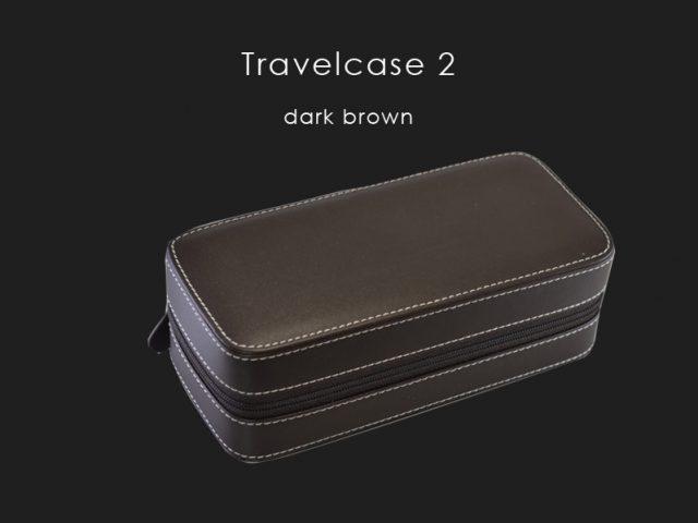 トラベルケース2 ダークブラウン