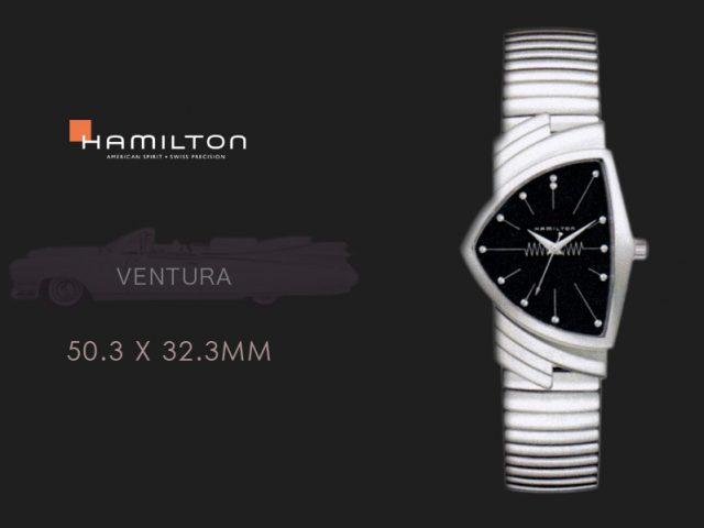 ハミルトン ベンチュラ  フレックススチールブレス H24411232