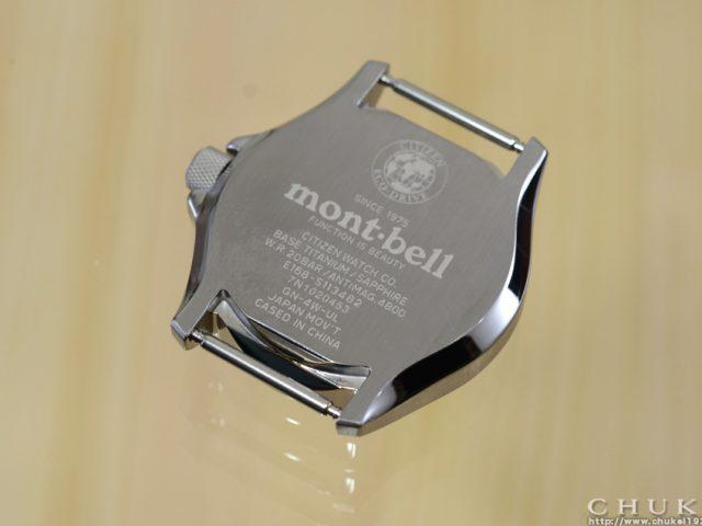 モンベル BN0121-00E ケースバック