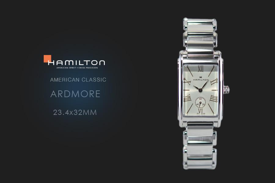 competitive price 0fbf7 bdfb4 ハミルトン アードモア 23.4x32mm SSブレス仕様 H11421114 | 中 ...