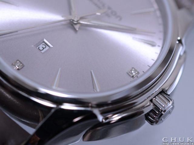 ジャズマスタービューマチックレディH32315891 ダイヤル ダイヤモンド