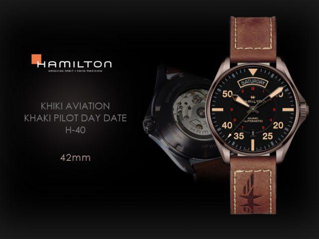 ハミルトン カーキパイロット ディディト H64605531  ブラウンPVD仕様