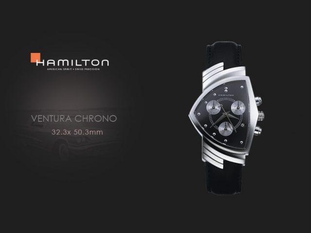 ハミルトン ベンチュラ クロノ H24412732