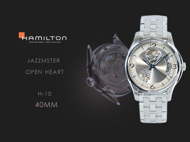 ハミルトン ジャズマスター オープンハート ベージュダイヤル・ブレス仕様 H325651121