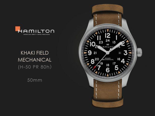 ハミルトン カーキフィールド メカ50MM  H69819530