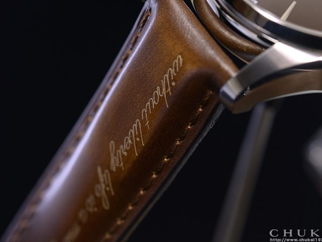 ハミルトン スピリットオブリバティ ブラウン H42415501 ブラウンカーフレザー