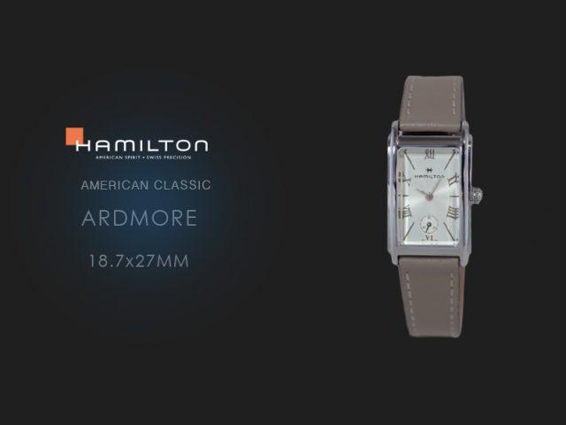 ハミルトン アードモア(18.7x27mm)H11221514 ベージュカーフ仕様