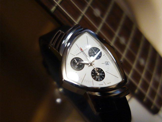ハミルトン ベンチュラクロノ H24432751 with Eギター2