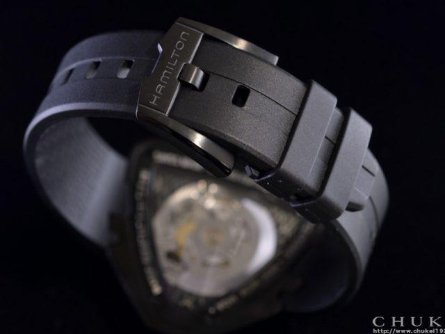 ハミルトン ベンチュラスケルトン 限定モデル H24595331 バックル