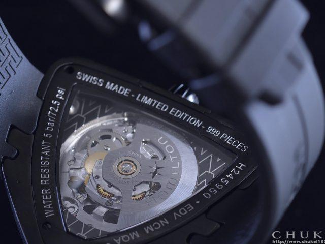 ハミルトン ベンチュラスケルトン 限定モデル H24595331 ケースバック