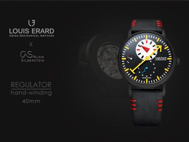 ルイエラール Xアランシルベスタイン エクセレンスレギュレター ブラック  LE54230NS62BVA09