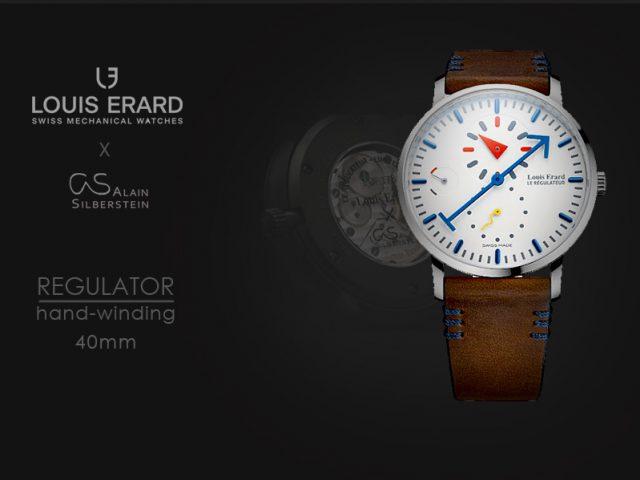ルイエラール Xアランシルベスタイン エクセレンスレギュレター ホワイト  LE54230AS61BVA08